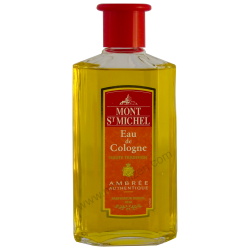 Mont St Michel : eau de cologne : ambree authentique : 250ml