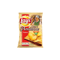 Lay's : A l'ancienne - Chips à l'ancienne  : Chips natures : 135 g