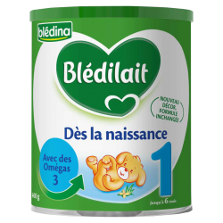 Bledilait : 1er age : For babies à to 6 month old : 900g
