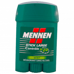 Mennen : stick large controle Vert : deodorant : stick 50ml