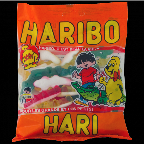 Crocodile Haribo promotion